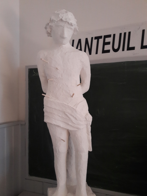 statue de la Saint sébastien