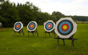 concours de tir à l'arc à Nanteuil le Haudouin